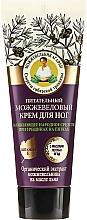 Perfumería y cosmética Crema de pies nutritiva con enebro - Las recetas de la abuela Agafia Juniper Nourishing Foot Cream