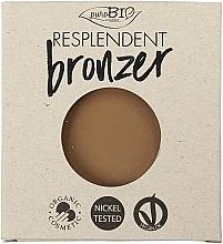 Perfumería y cosmética Polvo bronceador orgánico - PuroBio Cosmetics Resplendent Bronzer (recarga)