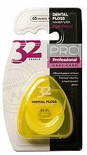 Perfumería y cosmética Hilo dental en estuche amarillo, 65m - Modum 32 Perlas Dental Floss