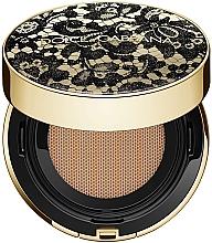 Perfumería y cosmética Base de maquillaje cushion de cobertura media a completa y larga duración, efecto mate SPF30 PA+++ - Dolce&Gabbana Preciouskin Perfect Finish Cushion Foundation