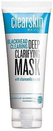 Mascarilla facial anti puntos negros con extracto de camomila - Avon Clearskin