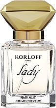 Perfumería y cosmética Korloff Paris Lady - Bruma para cabello