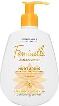 Perfumería y cosmética Gel nutritivo de higiene íntima con extracto de caléndula y ácido láctico - Oriflame Feminelle Nurturing Intimate Cream