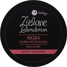 Perfumería y cosmética Mascarilla de limpieza facial con arcilla blanca - Zielone Laboratorium