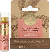 Perfumería y cosmética Bálsamo labial natural con aceite de cacao - Green Feel's Natural Lip Balm