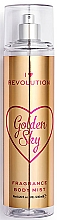 Perfumería y cosmética Bruma corporal refrescante con aroma a manteca de karité - I Heart Revolution Body Mist Golden Sky
