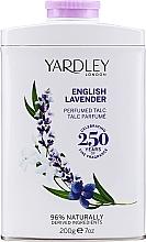 Perfumería y cosmética Yardley English Lavender Perfumed Talc - Talco corporal perfumado con lavanda inglesa y notas de almizcle