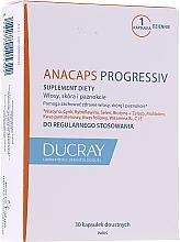 Perfumería y cosmética Complemento alimenticio en cápsulas para el fortalecimiento del cabello y uñas - Ducray Anacaps Progressiv Anti Chute Capsule