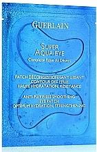 Perfumería y cosmética Parches antiinflamatorios para contorno de ojos con notas rosadas, ylang ylang y jazmín - Guerlain Super Aqua-Eye Anti-Puffness Smoothing Eye Patch