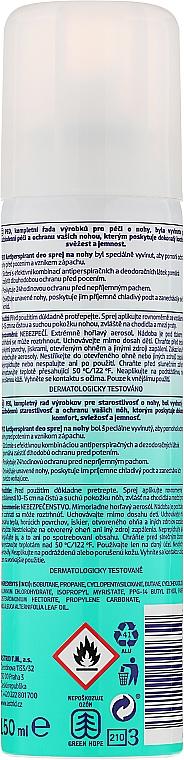 Spray antitranspirante para pies - Astrid Antiperspirant Deo Foot Spray Peo — imagen N2