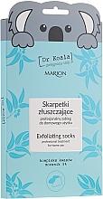 Perfumería y cosmética Mascarilla exfoliante calcetines para pies con 5% urea y aceite de eucalipto - Marion Dr Koala Exfoliating Socks