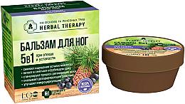 Perfumería y cosmética Bálsamo para pies 5en1 a base de hierbas con extracto de abedul - ECO Laboratorie Herbal Therapy
