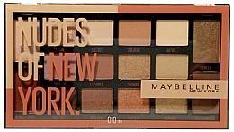 Perfumería y cosmética Paleta de sombras de ojos - Maybelline Nudes of New York Eye Palette