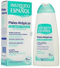 Perfumería y cosmética Gel de baño y ducha hipoalergénica para pieles atópicas y sensibles - Instituto Español Atopic Skin Shower Gel