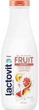 Perfumería y cosmética Gel de ducha con melocotón y pomelo, pieles secas - Lactovit Fruit Shower Gel