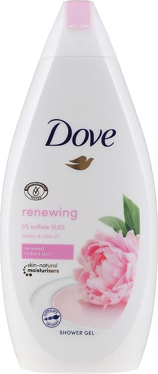 Gel de ducha con peonía & aceite de rosa - Dove Renewing Shower Gel