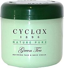 Perfumería y cosmética Crema para rostro y cuello con extracto de té verde - Cyclax Nature Pure Green Tea Face & Neck Cream