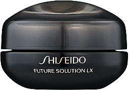 Crema nutritiva para ojos y labios con extracto de angélica - Shiseido Future Solution Eye and Lip Contour Cream  — imagen N1
