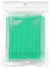 Perfumería y cosmética Micro cepillos para extensión y eliminación de pestañas, verde - Novalia Group