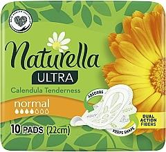 Perfumería y cosmética Compresas con alas y caléndula, 10 uds. - Naturella Ultra Calendula Normal