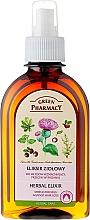 Perfumería y cosmética Elixir anticaída a base de hierbas - Green Pharmacy