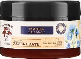 Perfumería y cosmética Mascarilla capilar vegana con extractos de trigo, linaza & avena - Mrs. Potter's Triple Grain Regenerate
