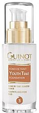 Perfumería y cosmética Base de maquillaje con ácido hialurónico - Guinot Fond de Teint Youth Time
