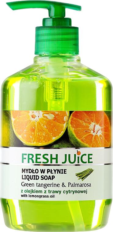 Jabón líquido con aroma a mandarina verde y palmarosa - Fresh Juice Green Tangerine & Palmarosa