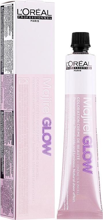 Tinte en crema permanente para cabello - L'Oreal Professionnel Majirel Glow (sin oxidante incluido)