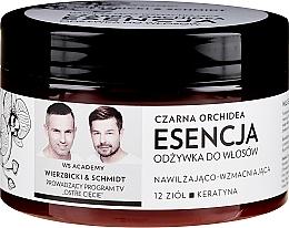 Perfumería y cosmética Esencia nutritiva para cabello con extractos de romero, árnica y camomila - WS Academy Black Orchid Nourishing Essence