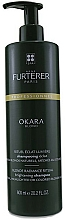 Perfumería y cosmética Champú iluminador para cabello rubio con extractos de limón y soja - Rene Furterer Okara Blond Brightening Shampoo