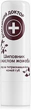 Perfumería y cosmética Bálsamo labial con aceite de rosa mosqueta y jojoba - Médico casero