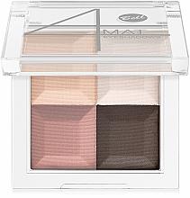 Perfumería y cosmética Sombras de ojos con efecto mate - Bell 4 Mat Eyeshadows