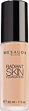 Perfumería y cosmética Base de maquillaje con ácido hialurónico & vitaminas - Mesauda Milano Radiant Skin Foundation