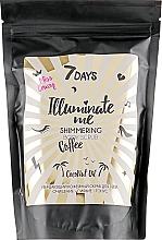 Perfumería y cosmética Exfoliante corporal con café y aceite de coco - 7 Days Illuminate Me Miss Crazy Coffee Shimmering Body Scrub