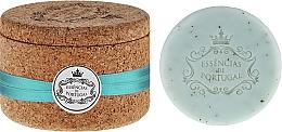 Perfumería y cosmética Jabón natural artesanal con aroma a violeta, con caja de corcho - Essencias De Portugal Tradition Jewel-Keeper Violet