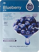 Perfumería y cosmética Mascarilla facial de tejido con extracto de arándano - Rorec Natural Skin Blueberry Mask