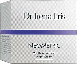 Perfumería y cosmética Crema de noche antiedad con extracto de manzana y manteca de karité - Dr Irena Eris Neometric Youth Activating Night Cream