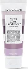 Perfumería y cosmética Acondicionador de cabello neutralizador de reflejos amarillos con provitamina B5 - Waterclouds Violet Silver Conditioner