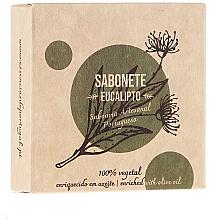 Perfumería y cosmética Jabón artesanal, eucalipto - Essencias De Portugal Senses Eucalyptus Soap With Olive Oil
