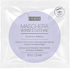 Perfumería y cosmética Mascarilla para ojos aborrosados y círculos oscuros - Pupa Mask To Fight Puffy Eyes And Dark Circles