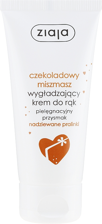 Crema de manos natural con aroma a bombones rellenos - Ziaja Hand Cream