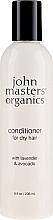 Perfumería y cosmética Acondicionador con lavanda y aguacate - John Masters Organics Conditioner For Dry Hair Lavender & Avocado