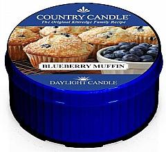Perfumería y cosmética Vela perfumada con arándanos & grosellas negras - Country Candle Blueberry Muffin Daylight