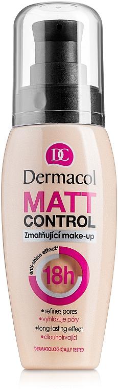 Base de maquillaje matificante resistente al agua - Dermacol Matt Control