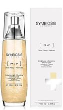 Perfumería y cosmética Gel de limpieza facial exfoliante con extracto de peonía blanca - Symbiosis London Enlightening & Exfoliating Cleansing Gel
