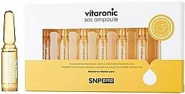 Perfumería y cosmética Ampollas faciales iluminadoras con vitamina C y ácido hialurónico - SNP Prep Vitaronic SOS Ampoule