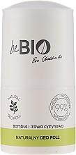 Perfumería y cosmética Desodorante antitranspirante roll-on con extractos de bambú y citronela - BeBio Natural Lemon Grass & Bamboo Deodorant Roll-On