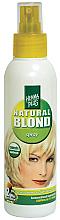 Perfumería y cosmética Spray aclarador de cabello semipermanente con extracto orgánico de camomila - Henna Plus Camomile Blondspray