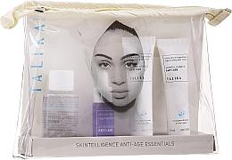 Perfumería y cosmética Kit de viaje - Talika Anti-Age Essentials Travel Kit (agua micelar/30ml + crema facial/15ml + crema facial/15ml + sérum/7ml + neceser)